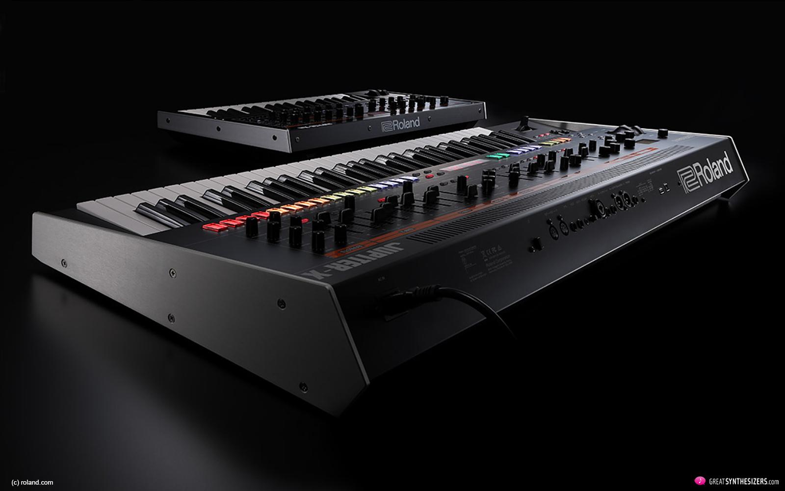 Roland's new JUPITER-X / JUPITER-Xm Synthesizers