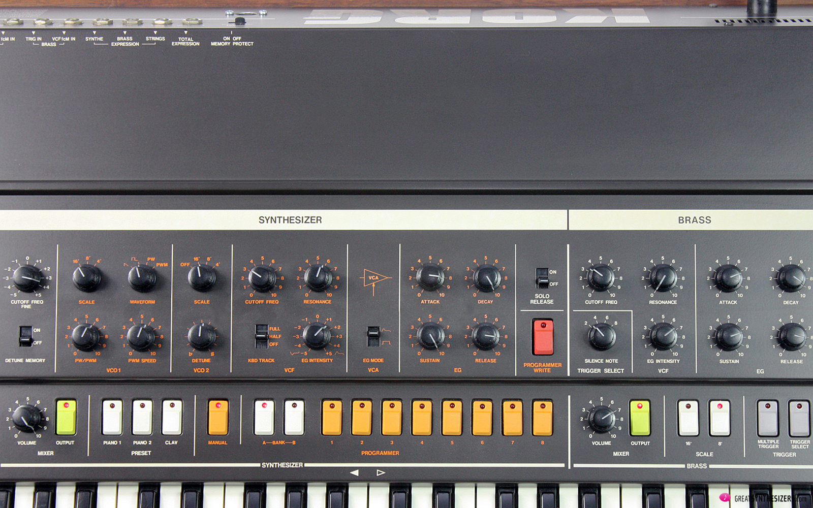 Korg Trident Synthesizer