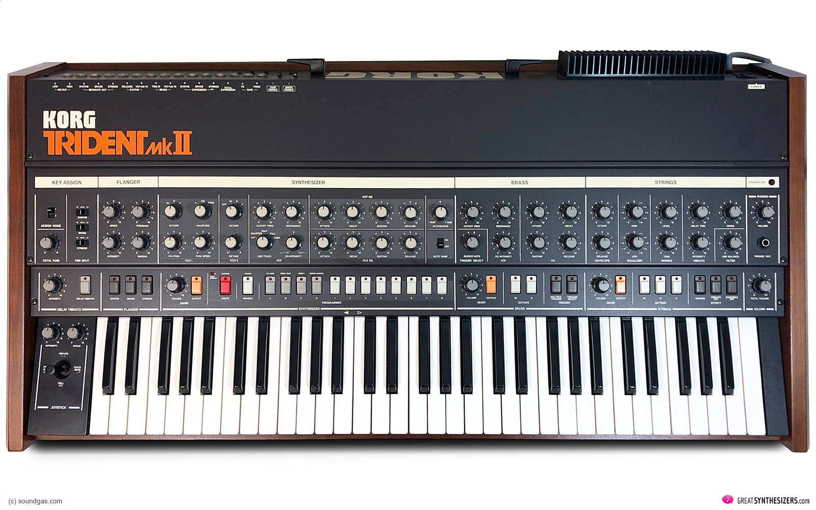 Korg Trident MKII Synthesizer