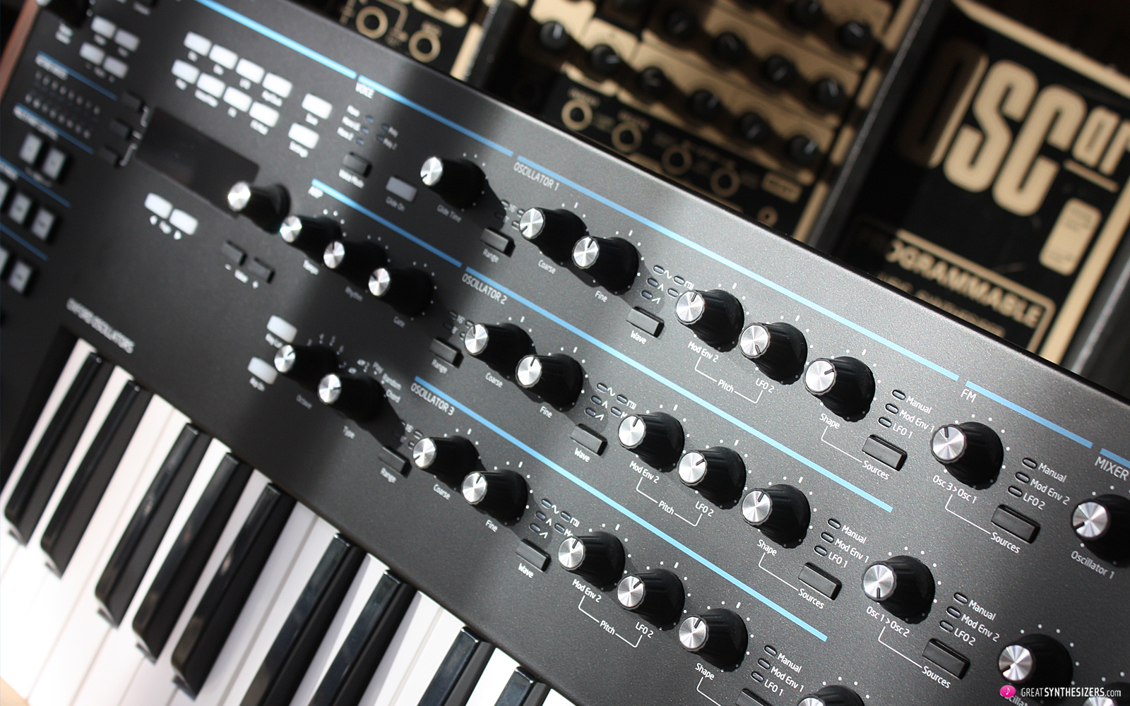Novation Summit Synthesizer, OSCar Synthesizer