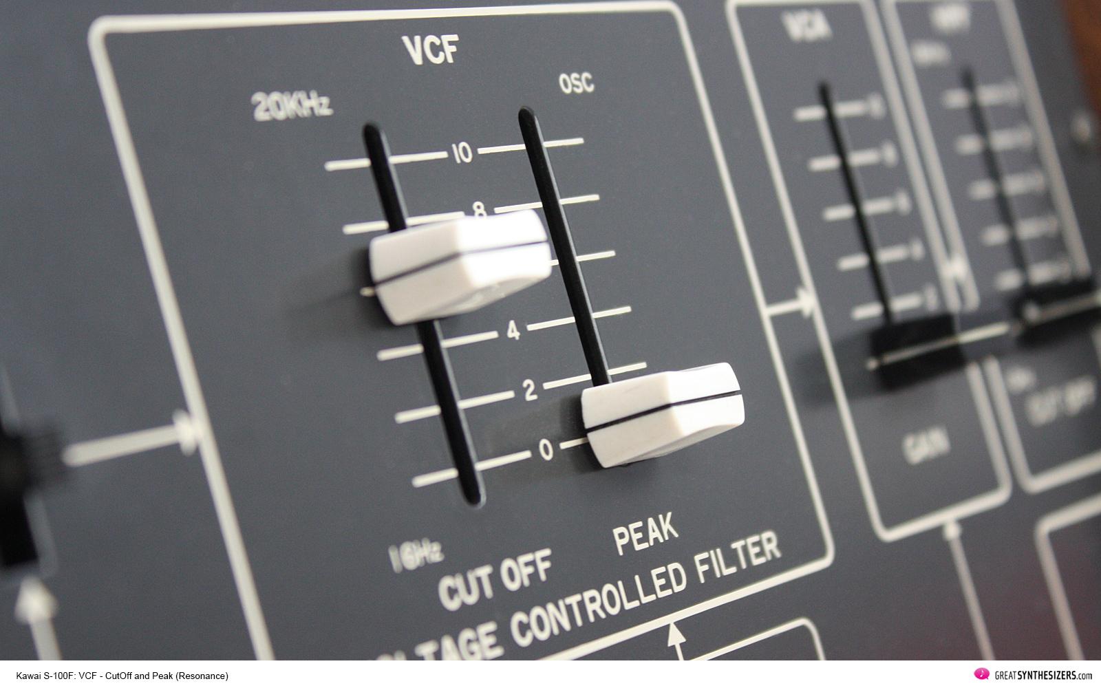 Kawai S-100F / Teisco S-100F Synthesizer