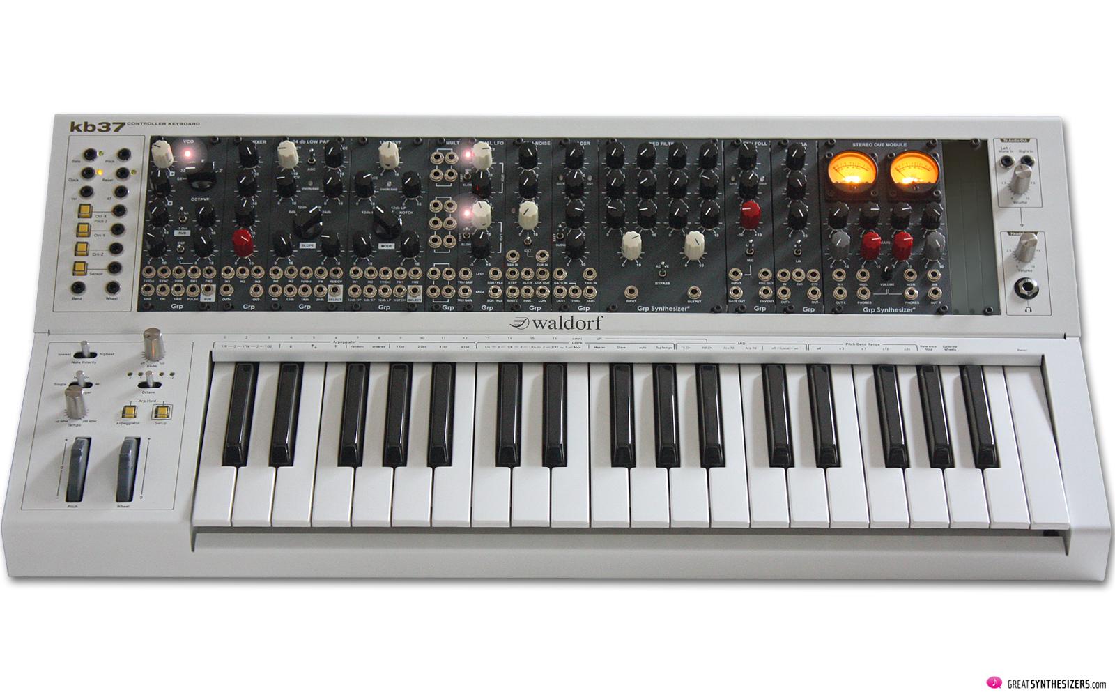 GRP Eurorack Synthesizer / Waldorf KB37