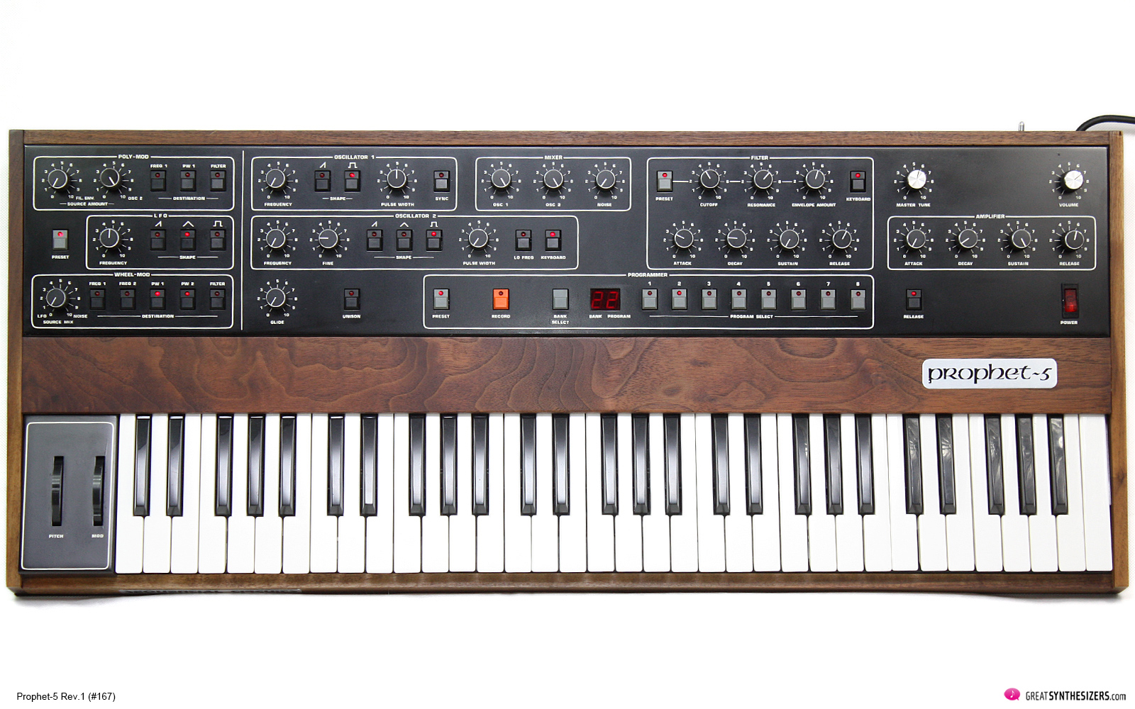Sequential Circuits Prophet-5 Synthesizer Revision 1