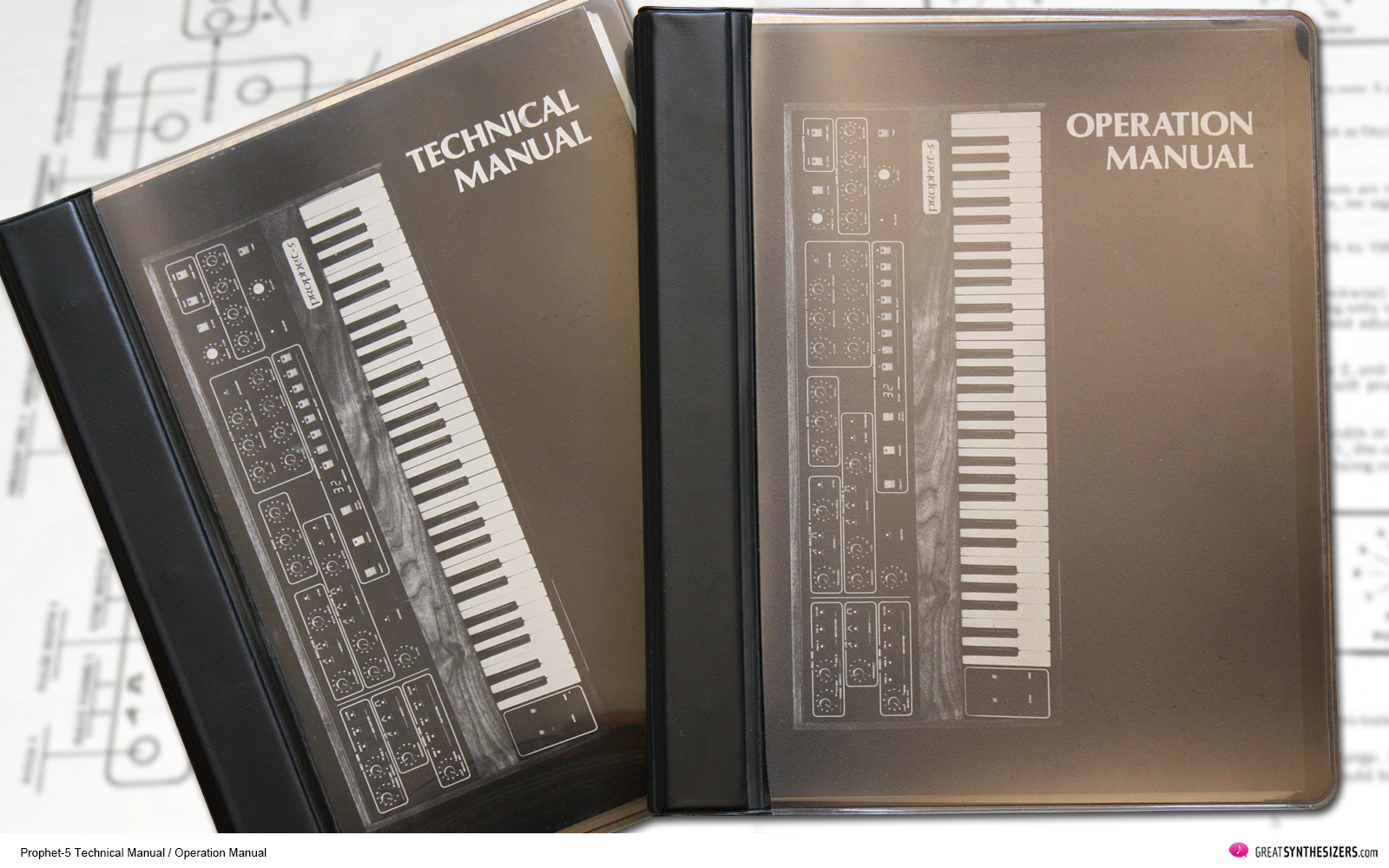 Sequential Prophet-5 Synthesizer Technical Manual / Operation Manual