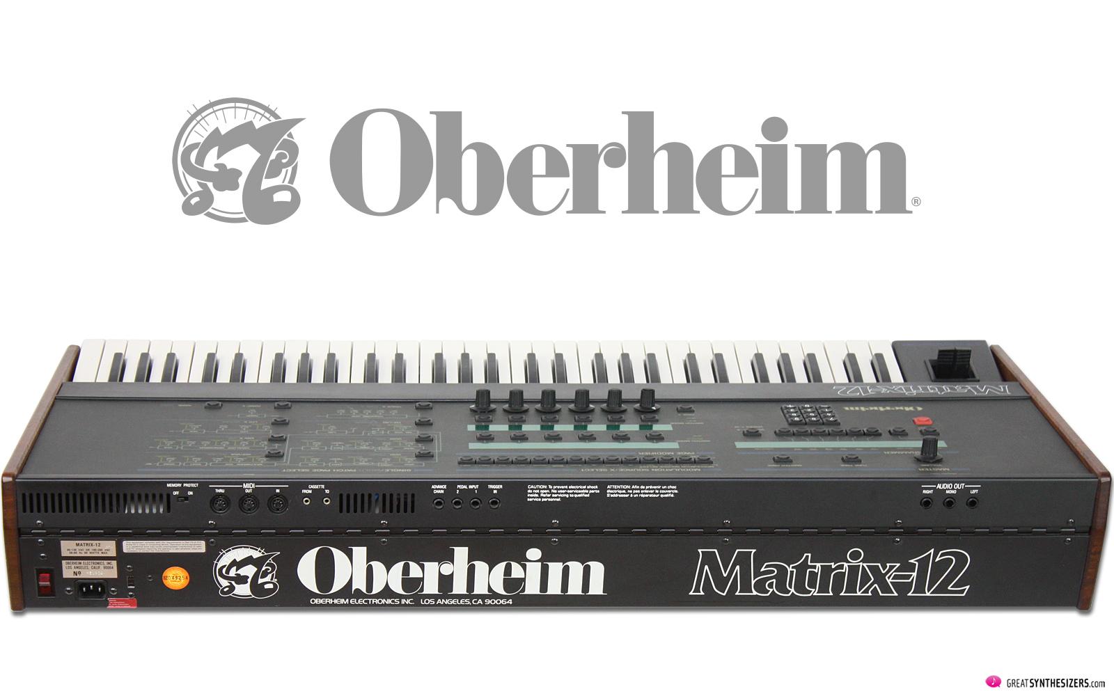 Oberheim Matrix-12 Synthesizer