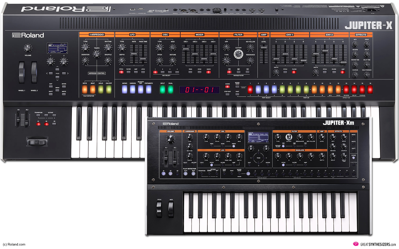 Roland Jupiter-X Synthesizer / Jupiter-Xm