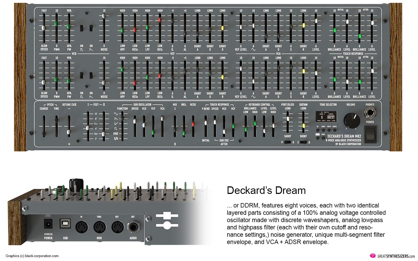 Black Corporation Deckard's Dream - Yamaha CS-80 Clone