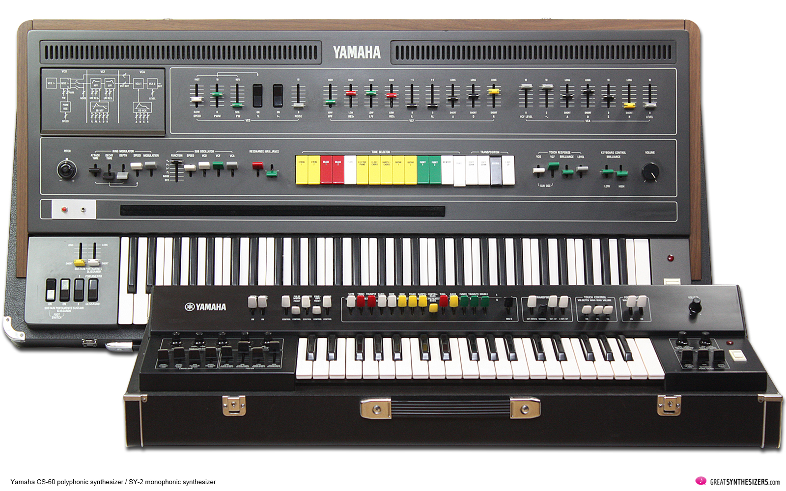 Yamaha CS-60 Synthesizer / Yamaha SY-2 Synthesizer
