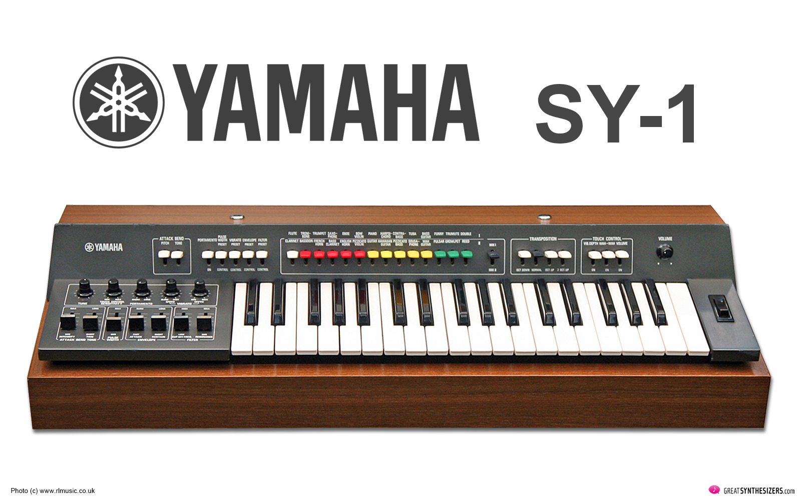 Yamaha SY-1 Synthesizer