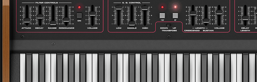 Crumar Performer Synthesizer Software