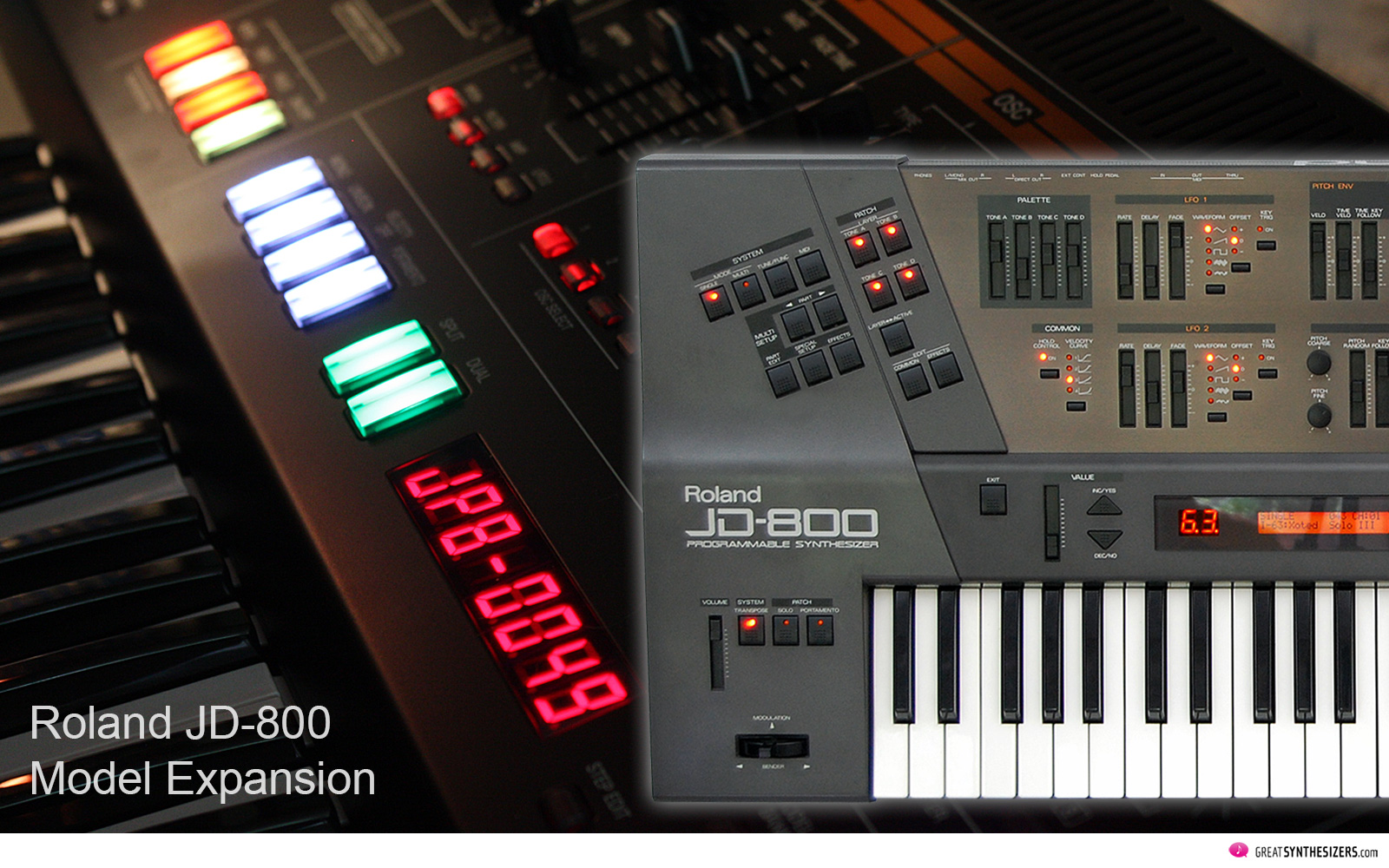 Roland JD-800 Model Expansion Software Synthesizer