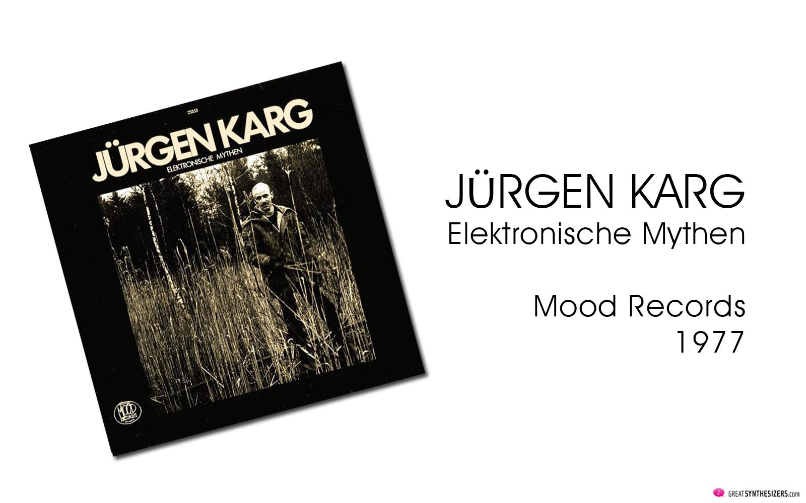 Jürgen Karg, Elektronische Mythen, EMS VCS3, EMS Synthi Sequencer 256