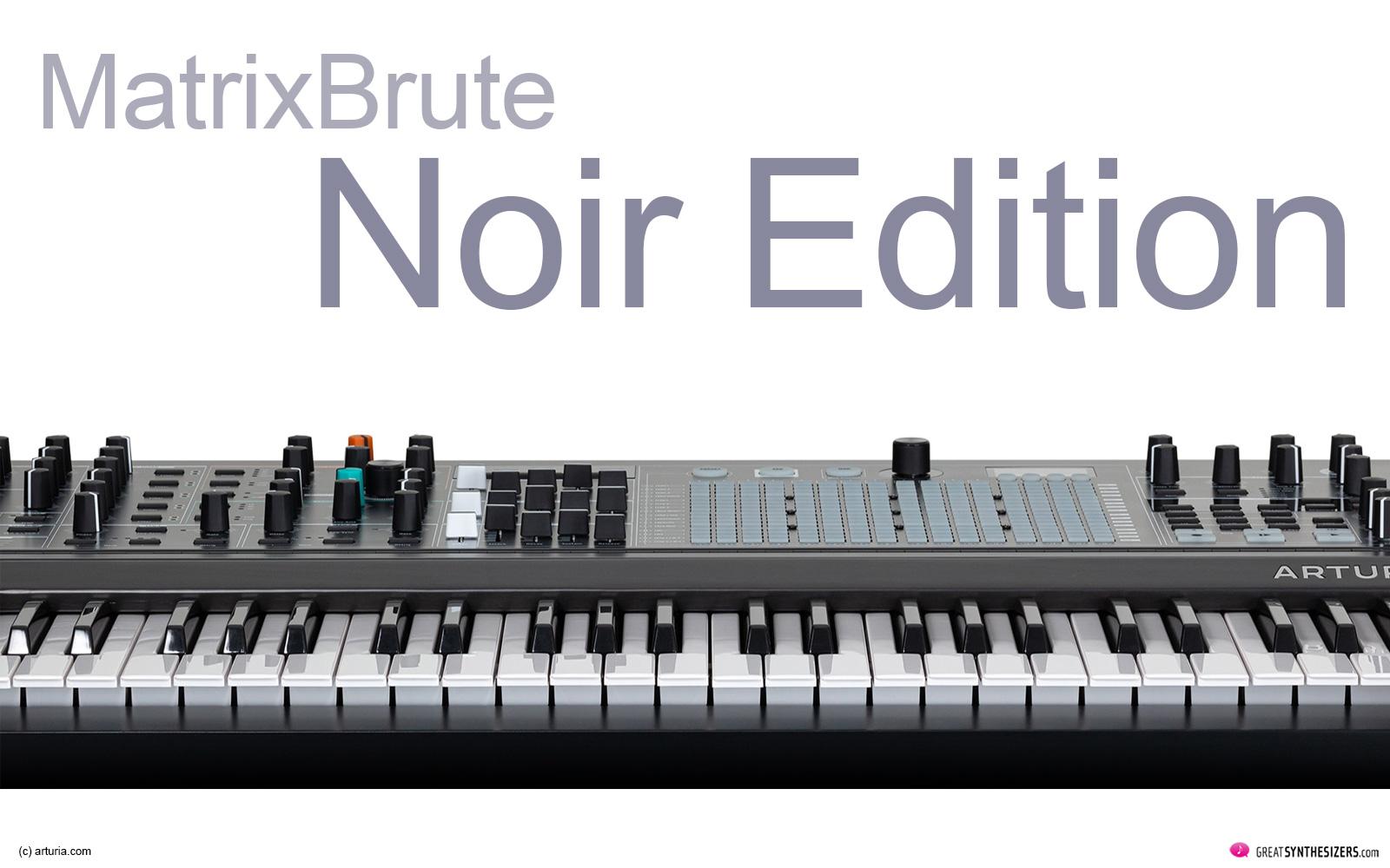 Arturia MatrixBrute Noir Edition