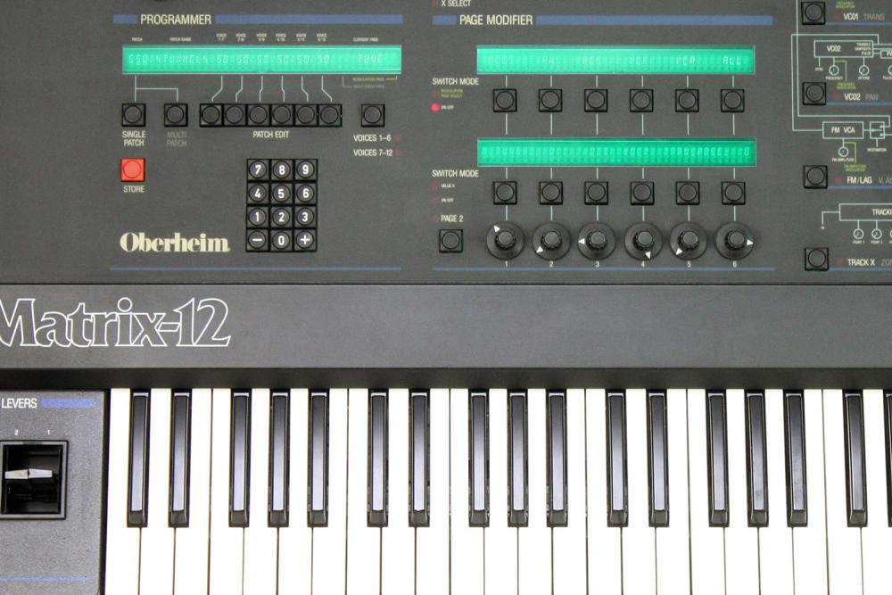 Oberheim Matrix-12