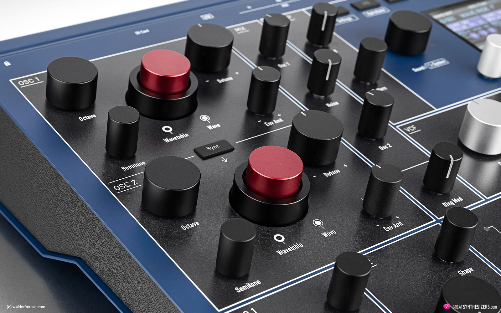 Waldorf M Synthesizer
